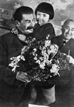 Stalin with child